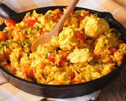 Arroz con pollo: delicioso plato tradicional venezolano