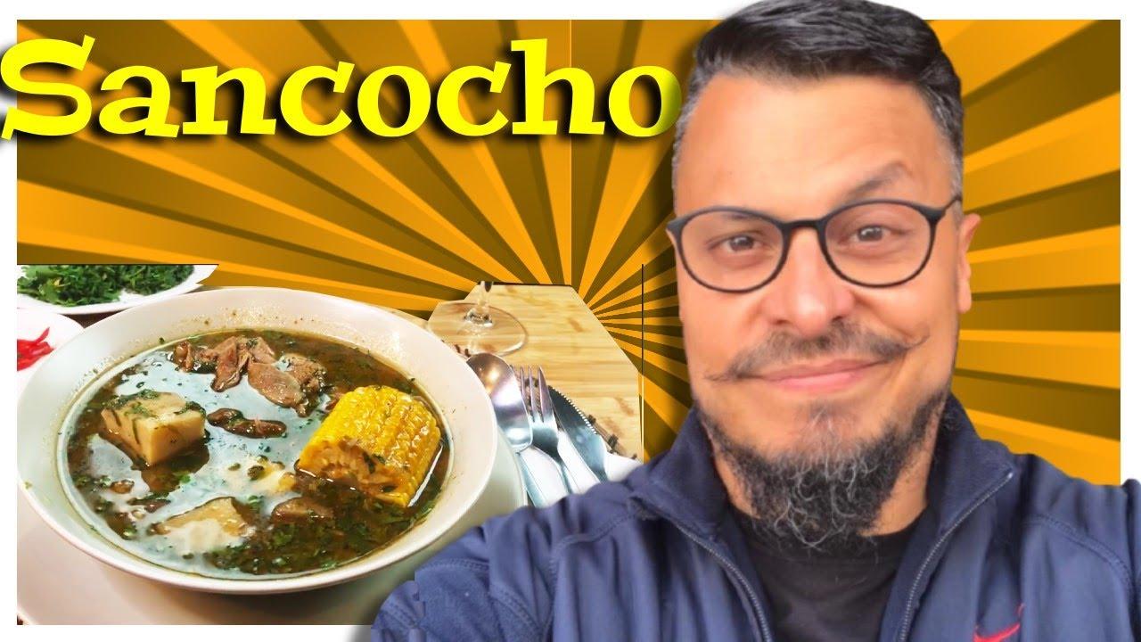 Sancocho historia receta