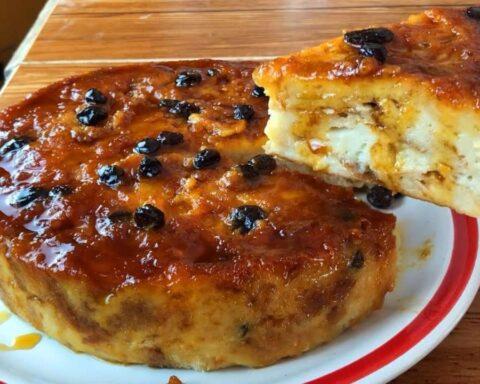 Torta burrera: delicioso postre, rico en sabores y aromas