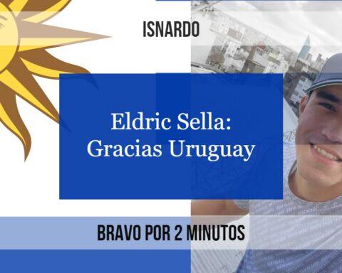 Uruguay acogió a Eldric Sella