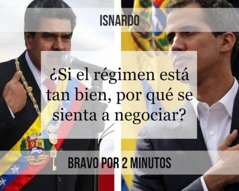 Isnardo Bravo por 2 minutos negociación régimen oposición