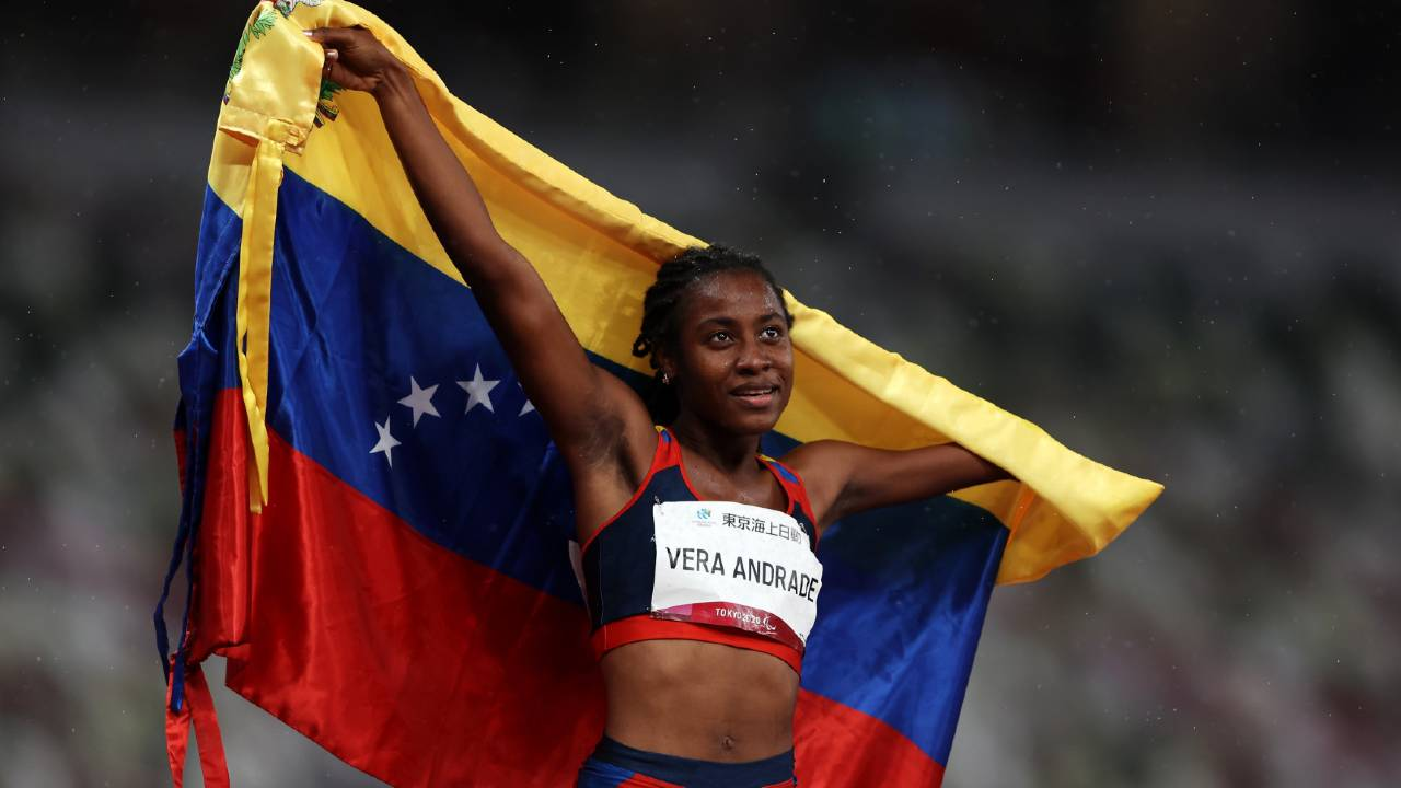Bravo por 2 minutos Venezuela juegos paralímpicos Tokio 2020