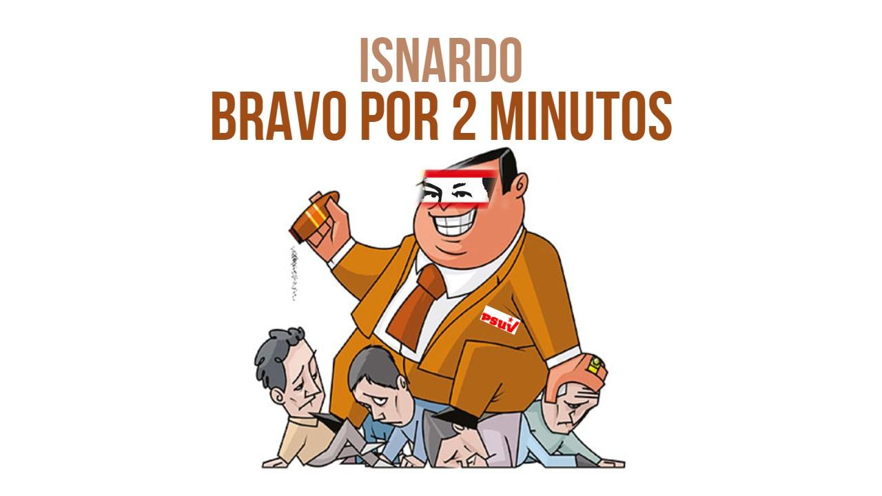 Isnardo Bravo por 2 minutos video Becerra abuso de poder