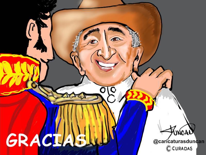 Mi tocayo - Caricatura de Duncan #TíoSimónEnCuradas