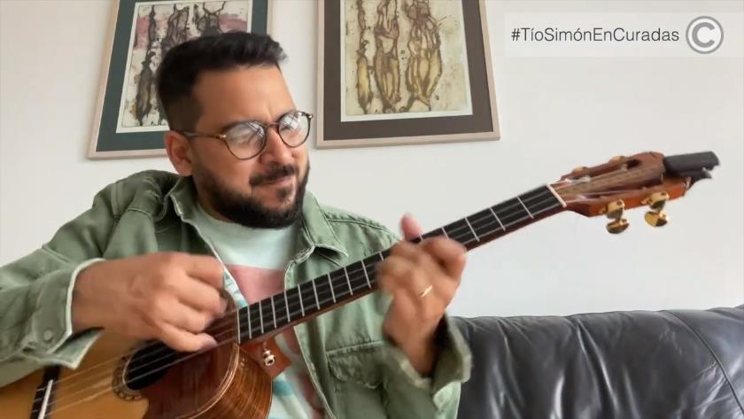 Miguel Siso homenaje Simón Díaz Curadas