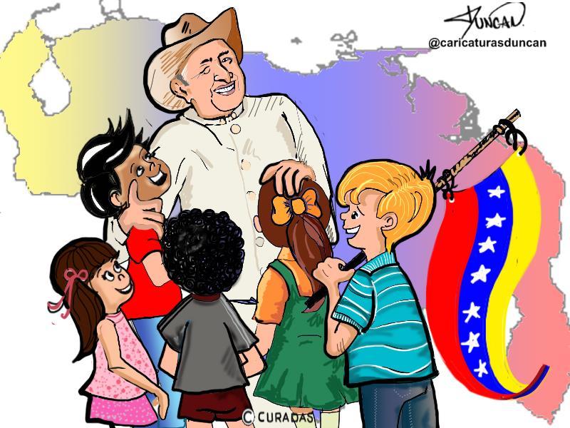 Tío Simón - Caricatura de Duncan #TíoSimónEnCuradas