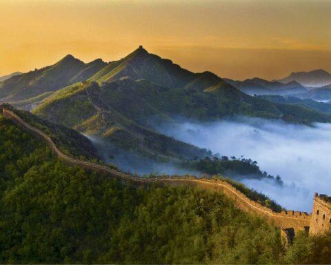 La Gran Muralla China: majestuoso icono de la cultura del Asia Oriental