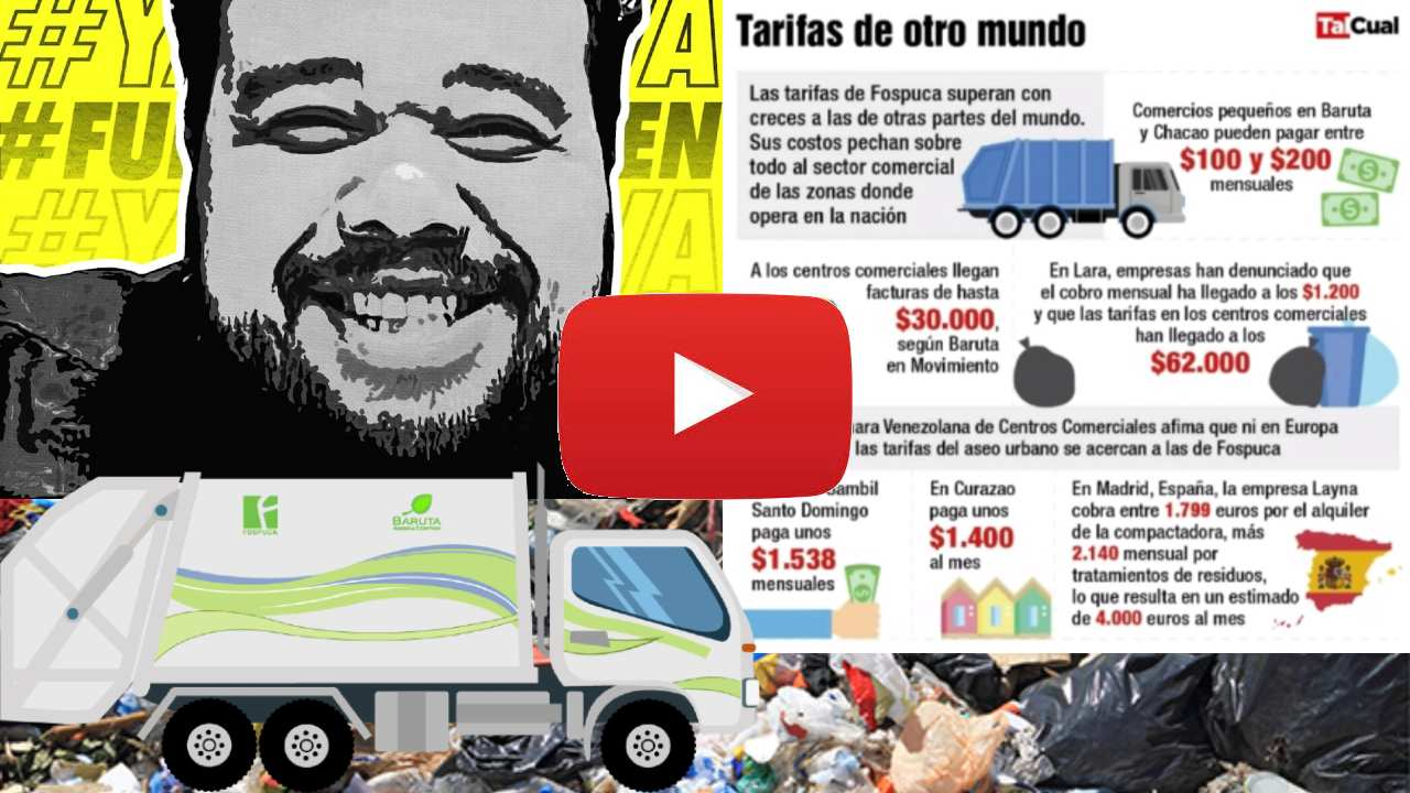 Daniel Lara Farías YouTube fospuca aseo urbano precios