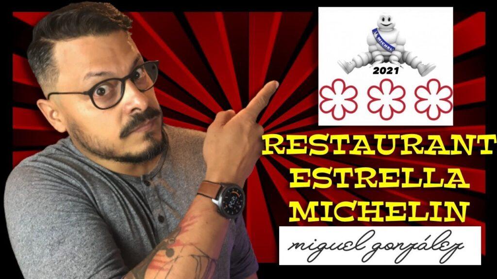 Guía Michelin restaurante estrella Daniel Nazoa