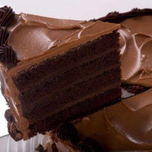 Torta de chocolate húmeda: rico postre para los amantes del chocolate