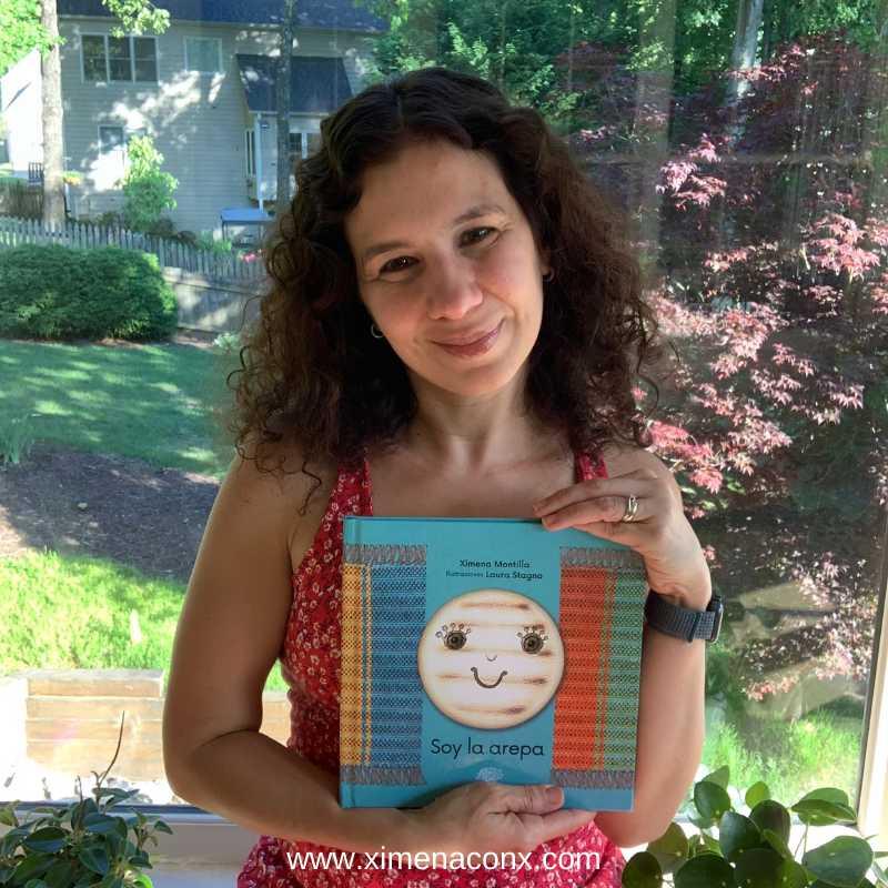 Ximena Montilla Soy La Arepa libro