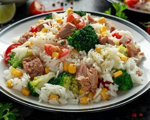 Arroz con verduras y atún: disfruta de esta rica receta nutritiva y diferente