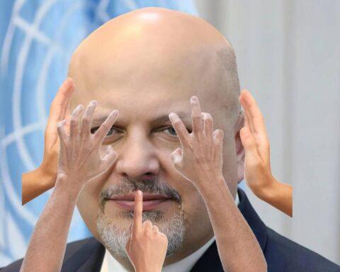 Bravo por 2 minutos visita fiscal Karim Khan