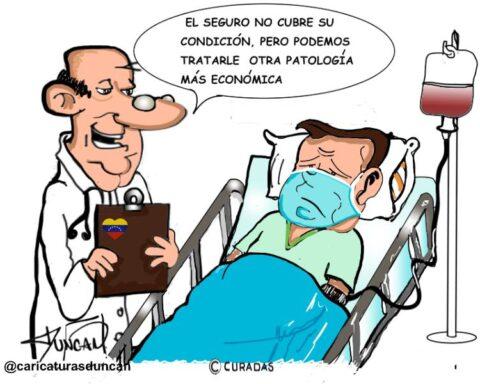 Negocio - Caricatura de Duncan
