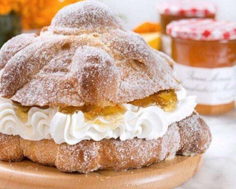 Pan de muerto relleno con pay de limón: delicioso y fácil de preparar