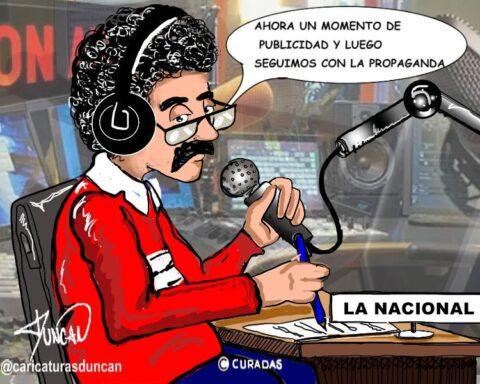propaganda - Caricatura de Duncan