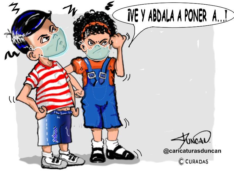 ¡Ve! - Caricatura de Duncan
